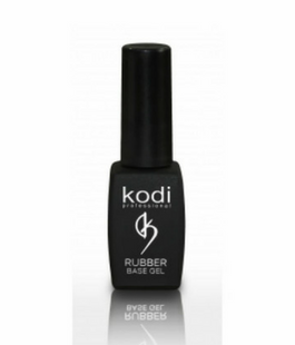 Rubber base gel nail polish